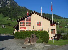 Gebäude der Gemeindeverwaltung Vorderthal